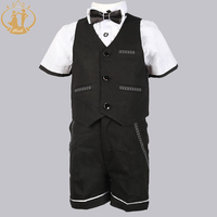 Nimble New Children S Formal Sets Wedding Suits For Baby Boys Wedding Clothes 4Pieces Vest Short