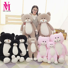 Vanmajor 60 75cm Cute Black Cat Plush font b Toys b font New Style Stuffed Comfy