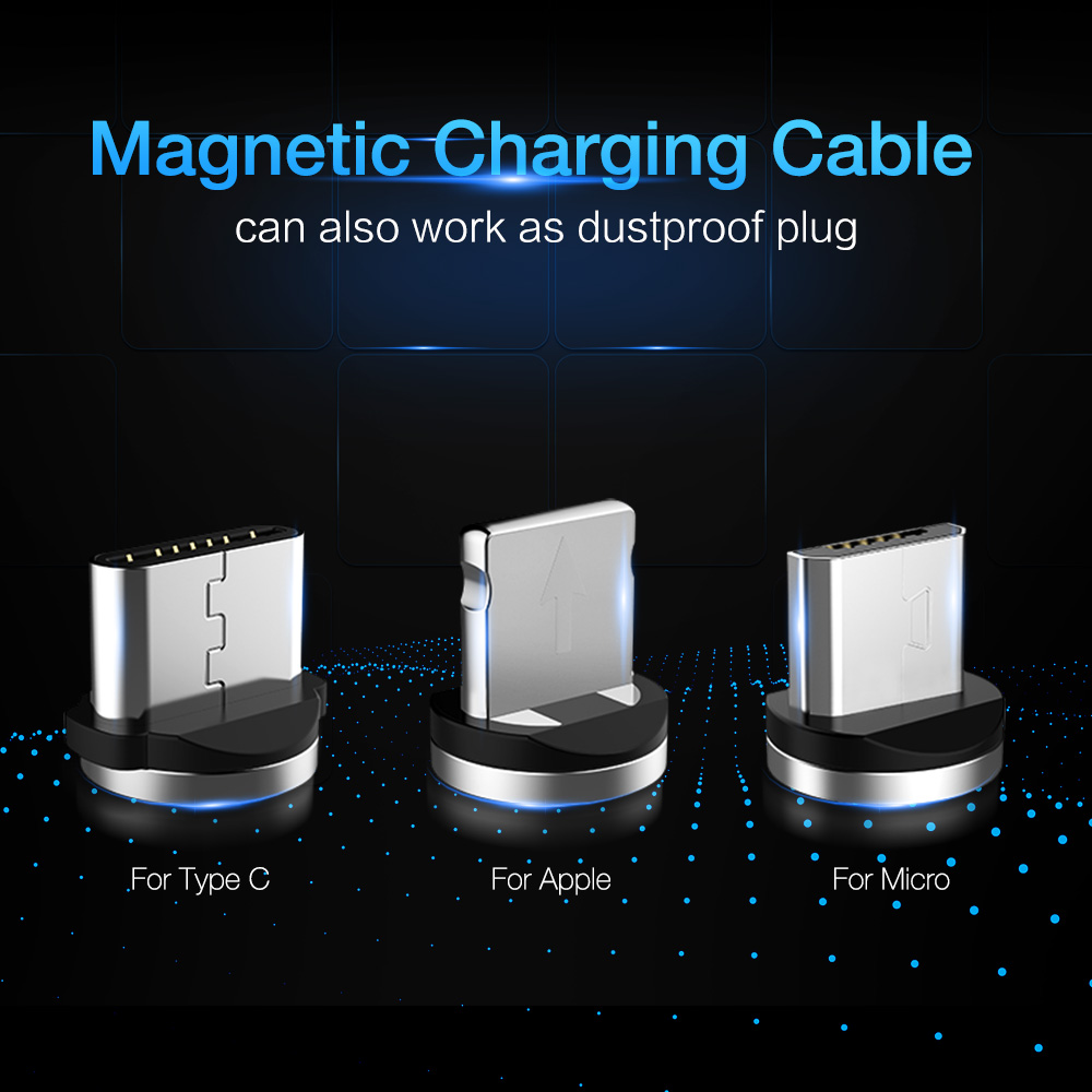Raxfly 3 In 1 Magnetic Lightning To Usb Cable For Iphone X 8 Magnet Wiring Diagram Plug Micro