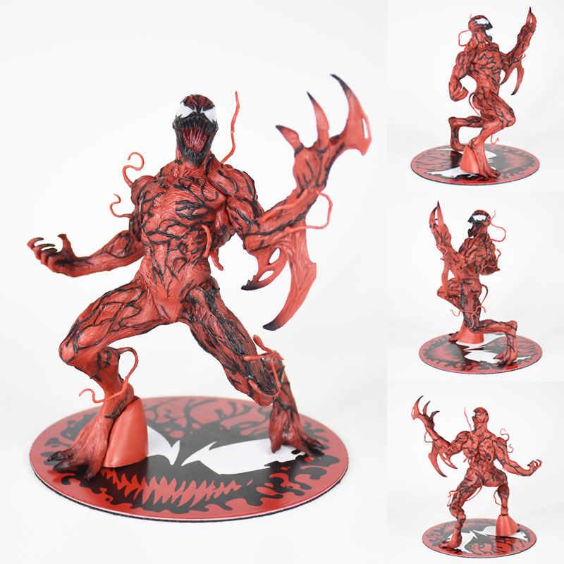 Movie game anime figura The Amazing Spider-Man Venom Carnificina ARTFX + ESTÁTUA 1/10 Escala Pré-Pintada Figura kit modelo 17 cm
