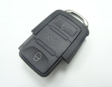 Замена Ключевые Shell для VW Polo Passat B5 B6 golf 4 5 6 Touran Бора Jetta 3 Кнопки оптовая и розничная