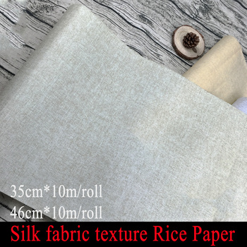 New Chinese Silk fabric texture Rice Paper for Painting calligraphy Xuan zhi Paper Art school Supplies