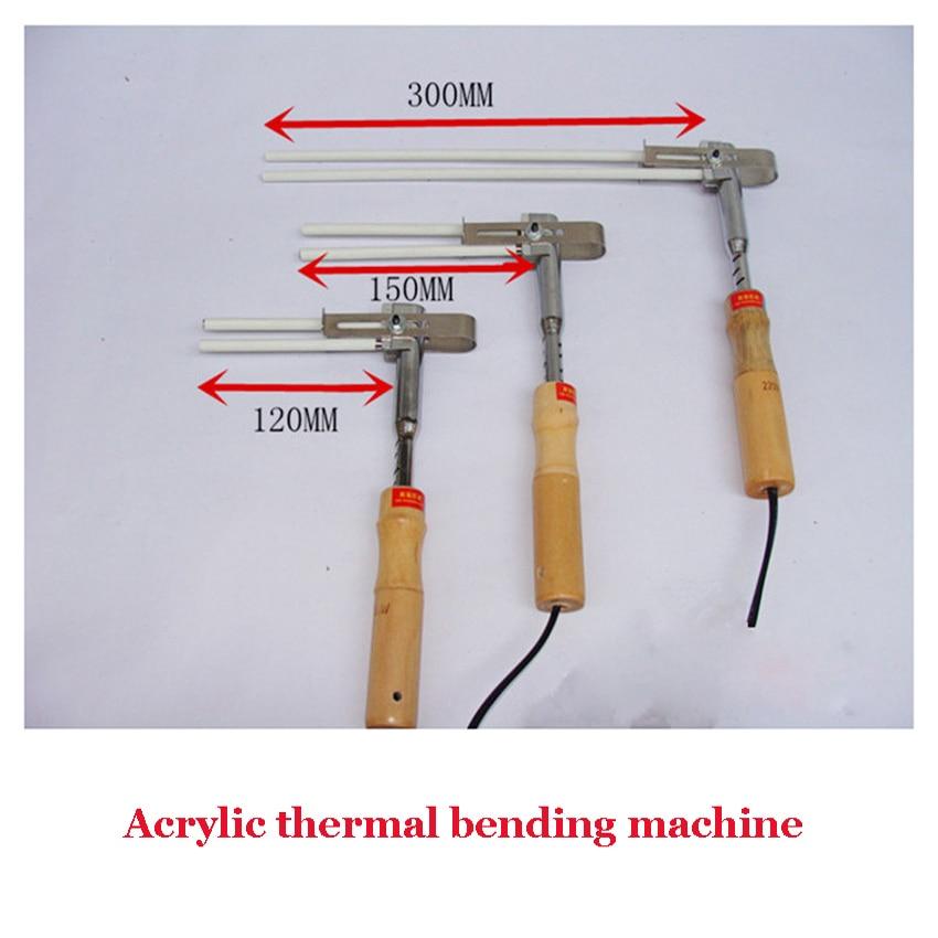 ФОТО 1PC Acrylic Bender Channel Letter hot bending machine Arc/Angle Shape Bender   120mm heating tube bender 220V