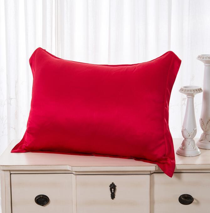 Silk Satin Summer Cool Pillowcase Home Bedding Decorative