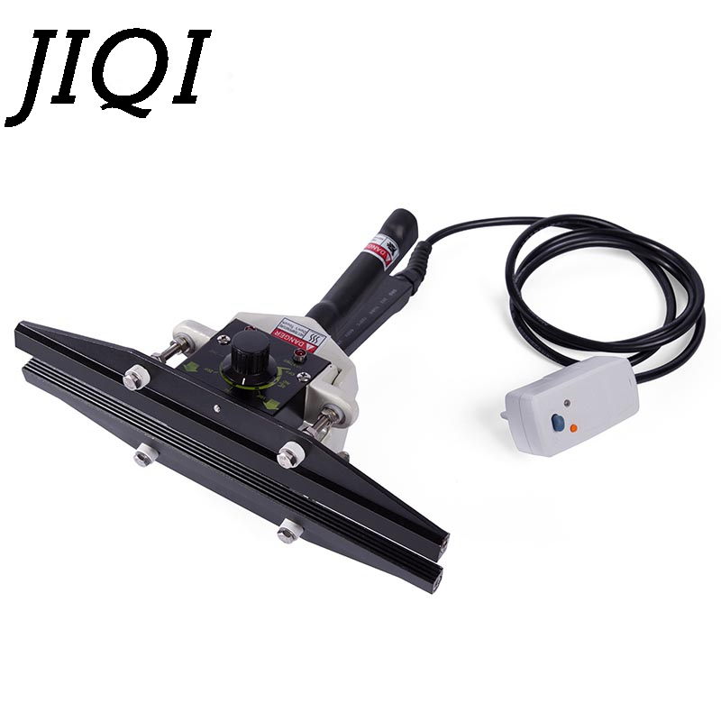 JIQI Direct-heat Bags Pliers impulse sealing machine handheld electric composite Aluminum foil kraft paper packing sealer packer