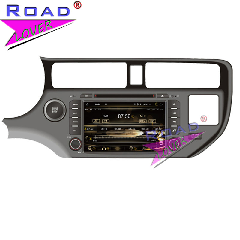 TOPNAVI Octa Core 4G+32GB Android 6.0 Car Media Center DVD Auto Player Video For KIA K3/RIO/Pride 2012- Stereo GPS Navi Two Din