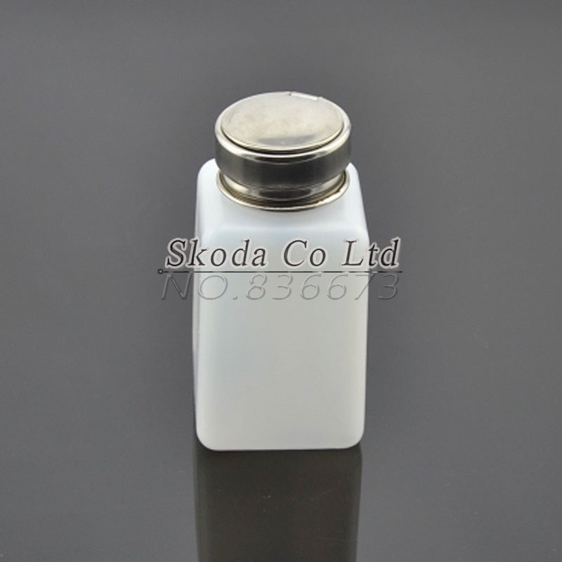 Free shipping 2pcs/lot 200ml Plastic Alcohol Bottle Soldering Flux Press Metal Cap 1000mg 100 pcs fish oil bottle for health capsules omega 3 dha epa with free shipping