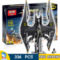 336 pcs batman 7112 dc comics batwing batalha ataque aéreo de gotham lutador do coringa modelo building blocks toy compatível com lego