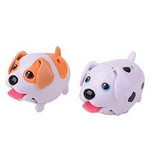 Прохладный щенок Электрический интересный мини хобби новинка пластиковые игрушки для детей милый мультфильм собака дети chulidren интерактивные подарки