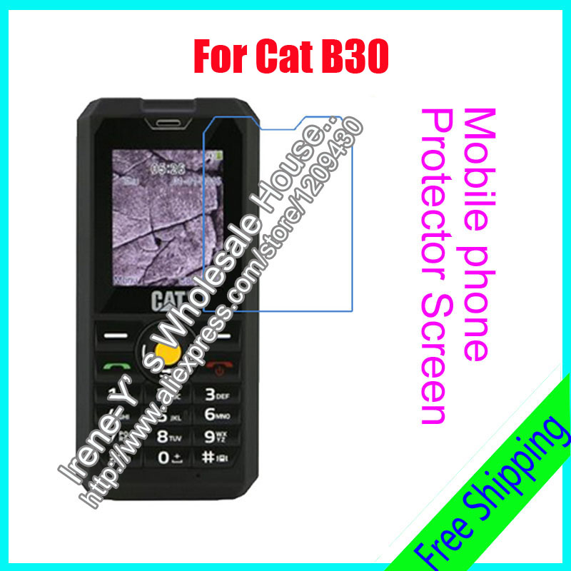 3pcs/lot For Cat B30 High Clear Glossy Screen Protector Film, Screen Protective Film For Cat B30 With Cloth
