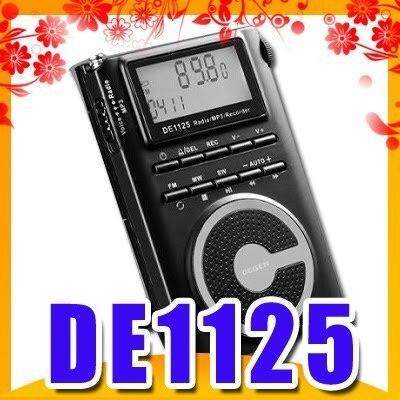 DEGEN DE1125 FM/MW/SW DSP Radio/2GMP3/Recorder
