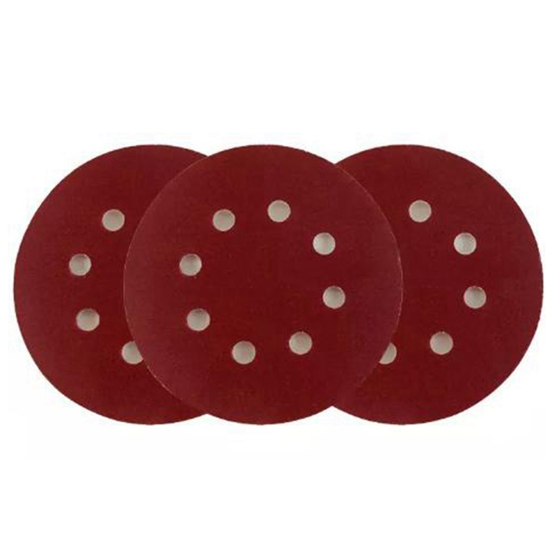 100 Pcs 125 Mm 5 Inch Abrasive Sandpaper Sanding Disc Hook & Loop Sand Paper Grits 240 For Sander Power Tools Accessories
