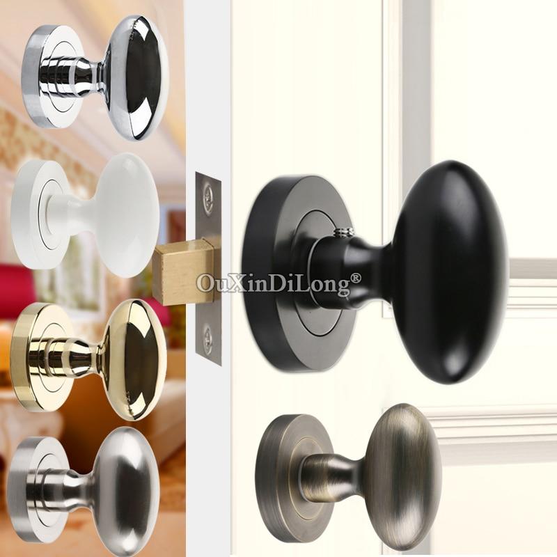Bon High Quality Zinc Alloy Background Door Lock Interior Invisible Hidden Door  Knobs Lock Bedroom Entry Lock Keyless Handle Lock