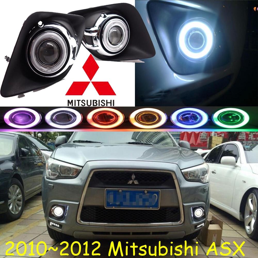 ASX fog light 2010~2012 Free ship!ASX daytime light,2ps/set+wire ON/OFF:Halogen/HID XENON+Ballast,ASX asx