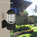 Waterproof LED Wall Lamp Aluminum Alloy Glass Lampshade IP65 Wall Lamp Outdoor E27 Socket AC 85-240V