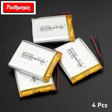 Postuman аккумулятор 3,7 V литий-полимерный аккумулятор 603443 950mAh MP4 gps навигация электронные колонки Lipo аккумулятор 063443