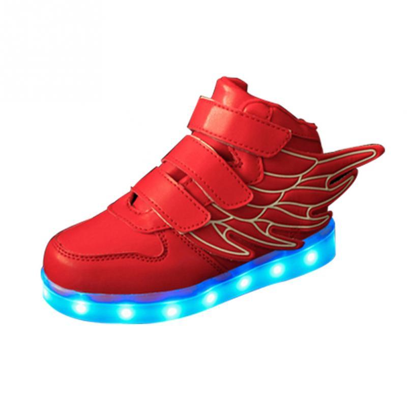 enfants flash Style LED New drôle lumineux Enfants Chaussures Xp87Z