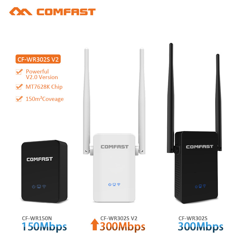 White Wireless WIFI Repeater 300Mbps WiFi Signal Range Extender WiFi Signal Amplifier Mini wi fi Extender Booster 802.11N/B/G
