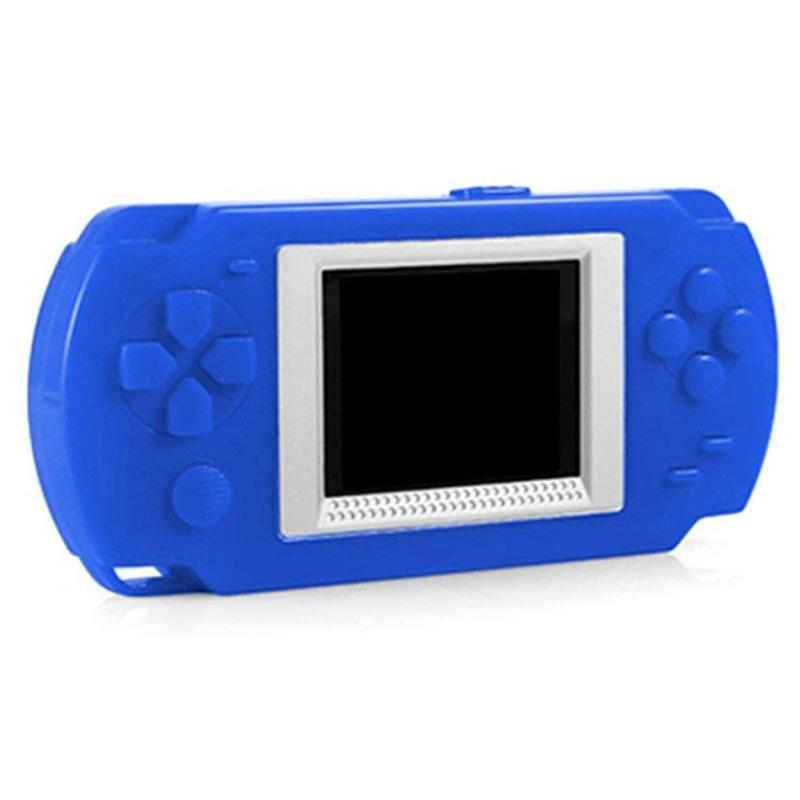 Cute Candy Game Console with 200+ Classic Games FC Games for Children Blue