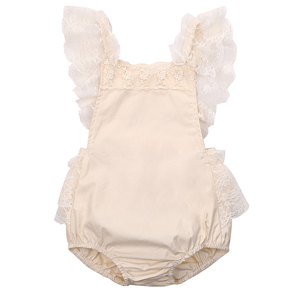 Online Buy Wholesale baby lace romper from China baby lace ...