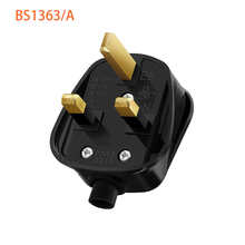 Rdxone 영국 3 핀 13a 플러그 접지 250 v 영국 메인 플러그 3 핀 퓨즈 bs1363 어댑터 전원 케이블 커넥터 와이어 변환기