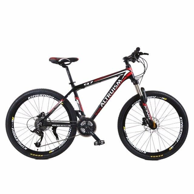 Altruism Q7 26 дюйм(ов) велосипеды Стали 21 скорость Двойной амортизация складной горный велосипед Двойной диск велосипед