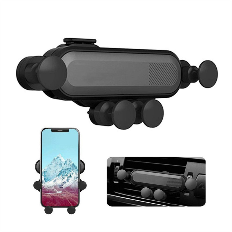 kongyide Car Holder Car Vent Mobile Phone Holder Five-Point Support Gravity Car Phone Holder Gravity Bracket dropship m16