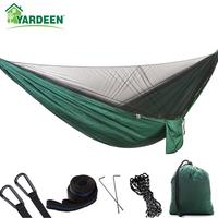 290*140cm Automatic Quick open Anti mosquito Hammock Outdoor Champing Hiking Parachute Hammock with Two Different Styles 7Colors|Hammocks|   -
