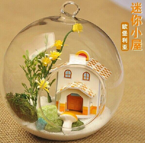 Aliexpress.com : Buy O.RoseLif 12 CM DIY House Hanging ...