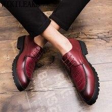 Shoes Coiffeur Italian Brand Oxford Classic Men Elegant Sapato Masculino