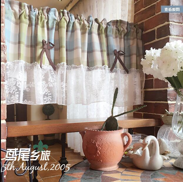 Curtains Ideas coffee curtains for kitchen : Online Get Cheap Plaid Kitchen Curtains -Aliexpress.com | Alibaba ...