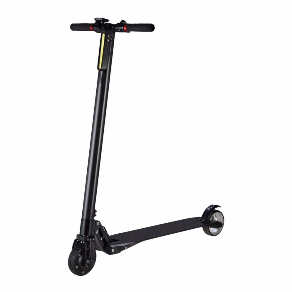 24V 300W*2 10 35km Luggage Folding Carbon Fiber Electric Scooter Adult Kid School Working Vehicles Travel 2 Wheel Lithium ion