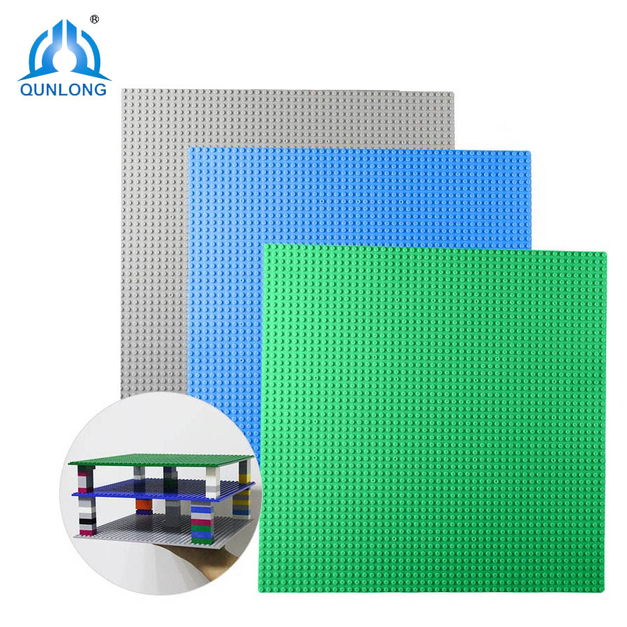 Qunlong 32*32 Dots Base Plate Baseplate Board DIY Building Blocks Toys For Children Compatible Legos Speed Minecraft City Toys