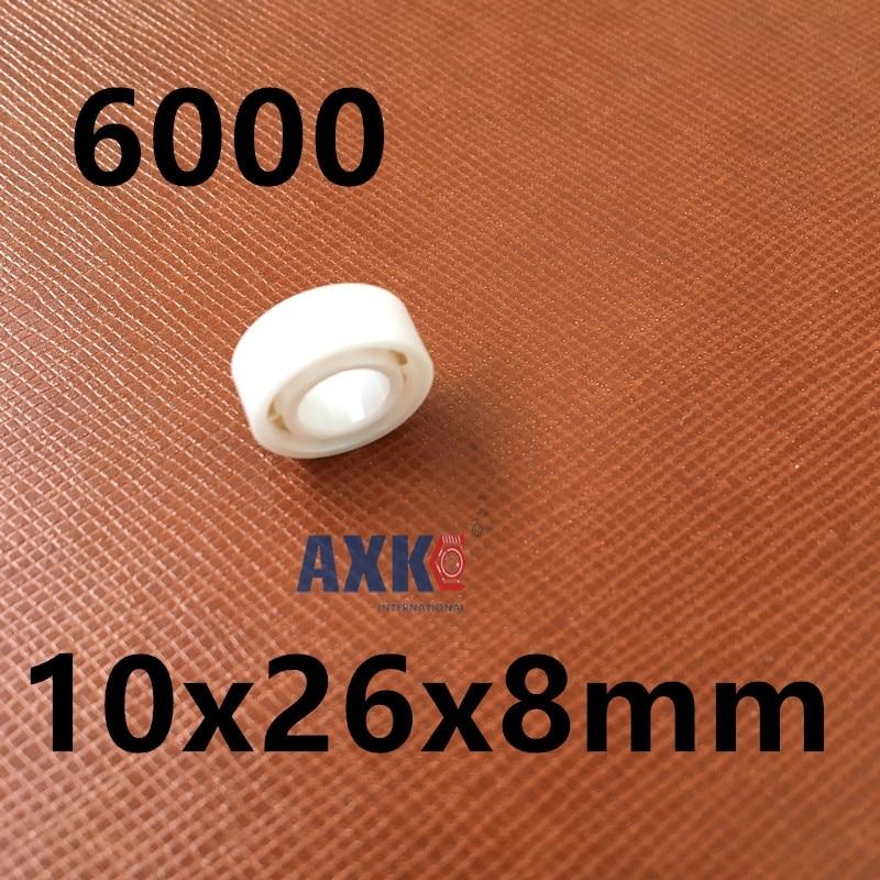 Free Shipping Full ceramic ball bearing ZrO2 6000 10x26x8 bearing CE6000 ce6000 120 аp