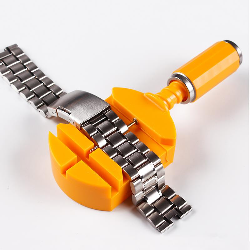Watch Tools Watch Link For Band Slit Strap Bracelet Chain Pin Remover Adjuster Repair Tool Kit For Men Women Watch repair in Repair Tools Kits from Watches