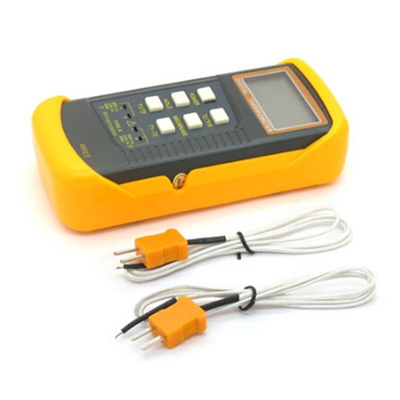Image 5 - Termómetro Digital tipo de termopar K 1300C Sonda de doble canal  profesional medidor de temperatura Industrial C/F/K Quick Data  Holdindustrial temperaturedigital thermocouple  thermometerthermocouple thermometer
