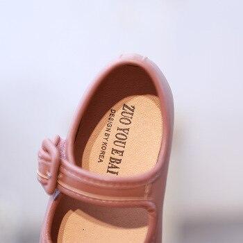 Kinder Mary Jane   Herbst 2019 Neue Kinder Prinzessin Schuhe Baby Mädchen Schwarz Schuhe Kinder Weiche Wohnungen Kleinkind Süße Marke Schuhe Dance Mode Mary Jane