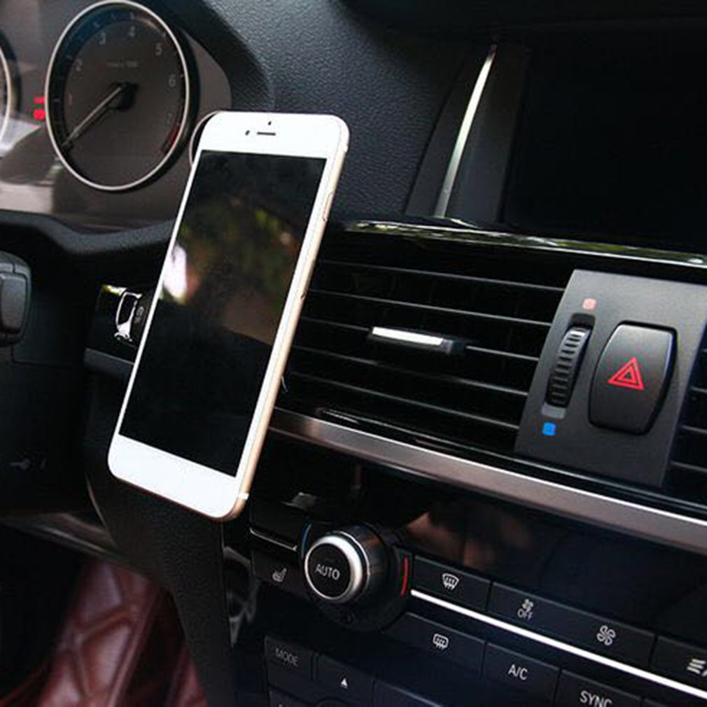 Mobile Phone Magnetic Holder Bracket Support GPS Navigation Car-styling Mount Cradle Stronger Magnetic Force Random Rotation