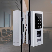 DIY Digital door lock with touch screen Fingerprint & RFID& password electronic locks sensors for office and apartment