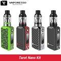 2017 Nova Original Vaporesso Tarot Kit Nano 2 ml Tanque e 80 W Caixa Mod Vape Veco 2500 mah Da Bateria vaporizador Cigarro Eletrônico