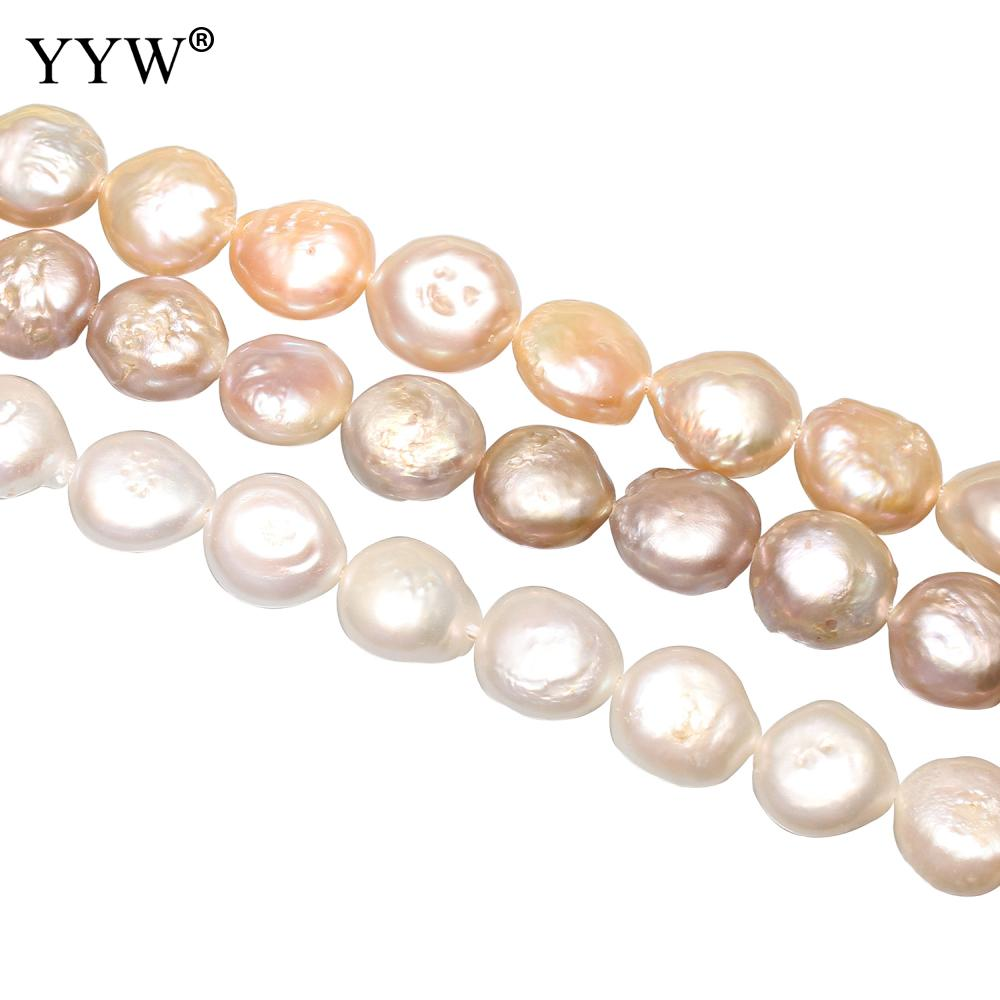 Beads Beads & Jewelry Making 10pcs Natural Big Hole Oval Freshwater Pearl Pearls Beads For Jewelry Making Diy Necklace Bracelet Jewelry 8-9mm*10-11mm Various Styles