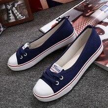 Women Flats Shoes Fashion Casual Canvas Shoes Women Slip On Canvas Flats Shoes Women Low Shallow Shoes Woman p6d47