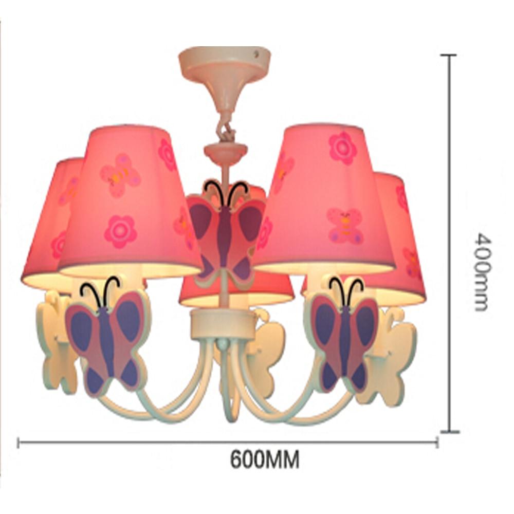 Cartoon Led Chandelier Flower Lustre Led 110V 220V Home Lighting Kids Room Chandelier Baby E14 Led Chandeliers-in Chandeliers from Lights & Lighting    2