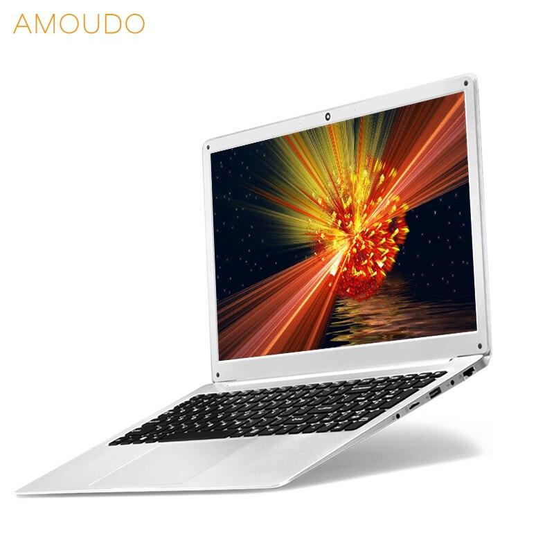 AMOUDO 15.6 pouces 8 gb RAM 500 gb/1 tb HDD Intel Gemini Lac N4100 Quad Core CPU Windows 10 système Ordinateur Portable Ordinateur Portable