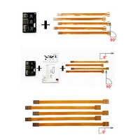 4 En 1 teléfono IC tarjeta herramienta de activación Micro conversor de tarjeta SIM Tarjeta de extensión adaptador Nano SIM FPC 15cm línea de Cable Flexible
