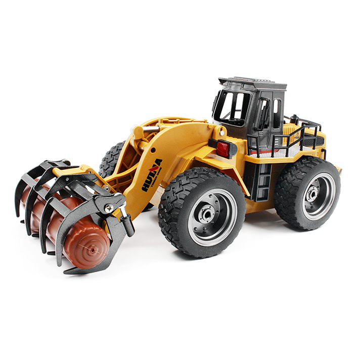 2017 Latest 1590 1:18 2.4GHz 6CH RC Alloy Timber Grab Truck RTR Grasper Opening Closing / Movable Arm / Mechanical Sound