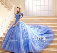 Bridal Wedding Dress Cosplay Costume Adult Elsa &Anna Snow White Hot movie Sandy Princess Cinderella Birthday Gift