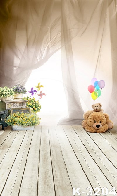 Strap Floor Photo Backdrops Dream Curtain Cute Dolls Photography Vinyl Background 5*7ft Studio Fundo Photographic Digital Cloth shengyongbao 300cm 200cm vinyl custom photography backdrops brick wall theme photo studio props photography background brw 12