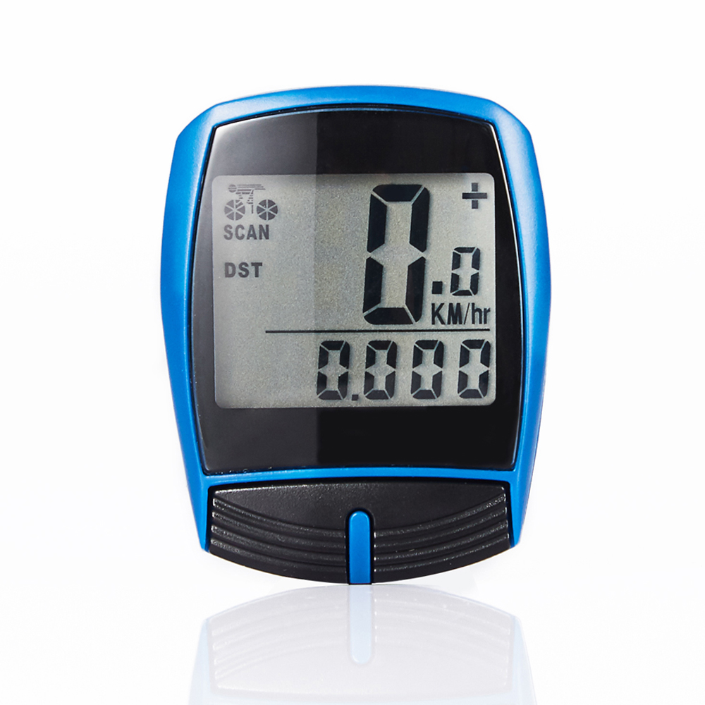 Bicycle Cycling Computer Speedometer Waterproof Digital Bike Speedometer Wried Stopwatch Odometer Computer Bike Accssories bryton r530t gps bicycle bike cycling computer