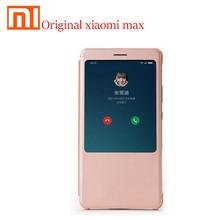 Coque dorigine xiaomi max housse mi max PC + PU Anti coup xiaomi MAX Version globale étuis de luxe couverture arrière
